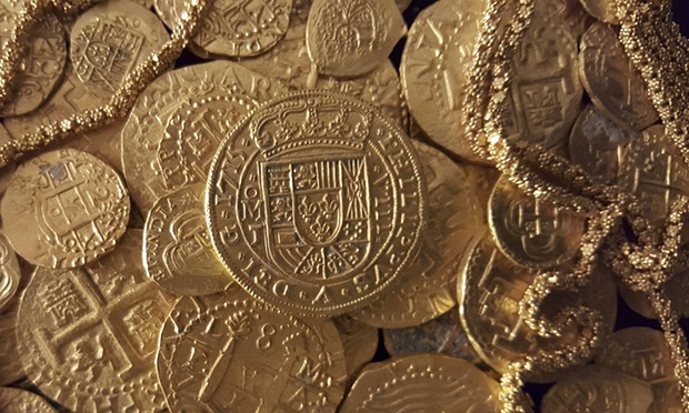 Több millió aranyérme a San Jose szállítóhajó roncsán