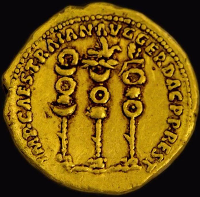 Augustus császár a kétezer éves aranyérmén II.