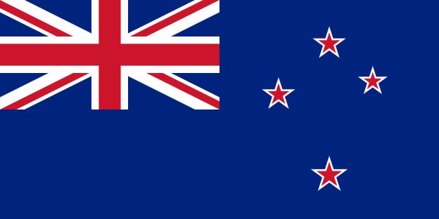 A jelenlegi New Zealandi zászló