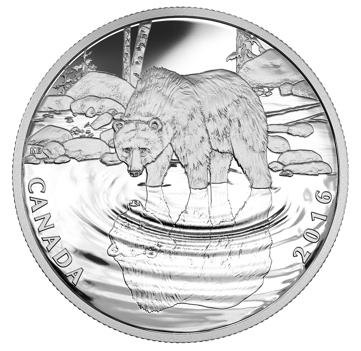 Royal Canadian Mint -- a vadvilág tükörben