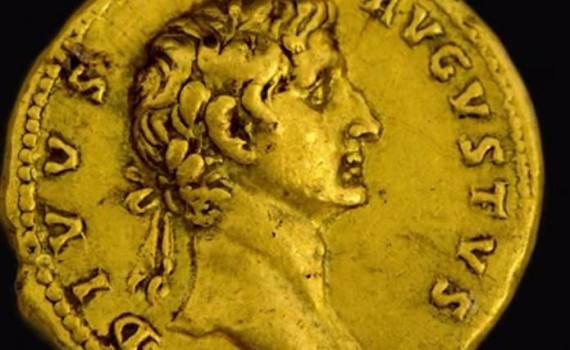 Augustus császár a kétezer éves aranyérmén I.