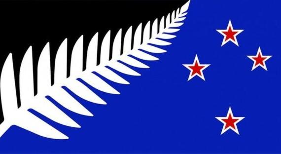A tervezett New Zealandi zászló