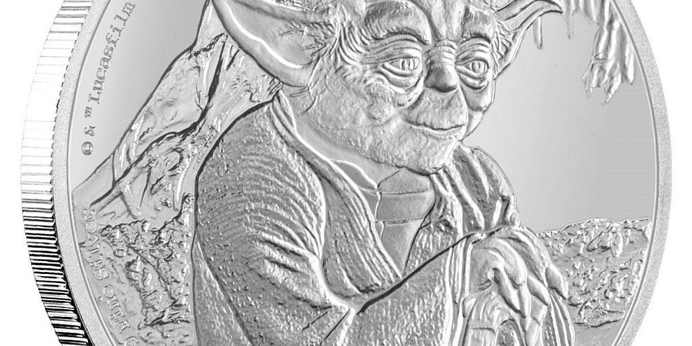 New-Zealandi Pénzverde, Yoda ezüst 2016, 1 uncia
