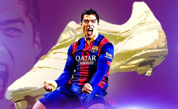 Luis Suárez és az aranycipő.